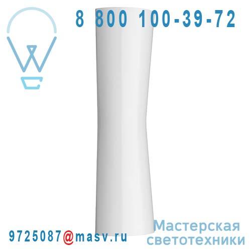 """F1583009 2 COLIS (F1580009 + F1581030) Applique LED d""""interieur et d""""exterieur Blanc - CLESSIDRA"""