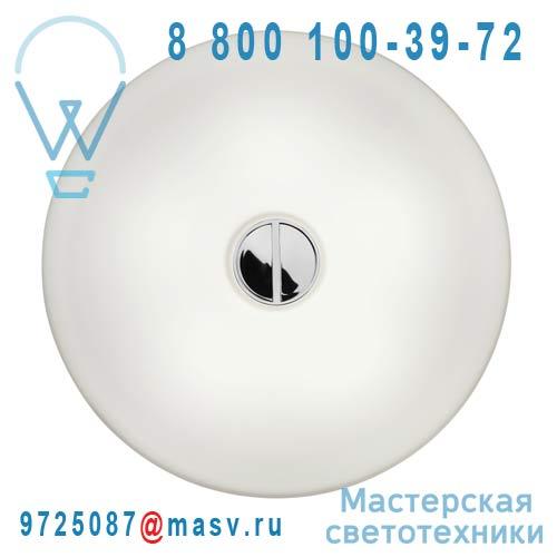 F3180009 + RF11177 + RF11178 Applique ou Plafonnier interieur ou exterieur - BUTTON FLOS