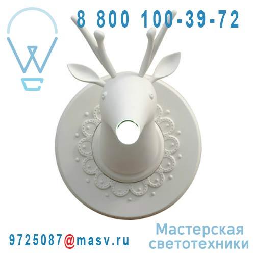 AP645M Applique Blanc - MARNIN Karman