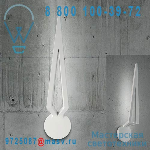 0704368523449 Applique LED Blanc - FLECHA Leucos