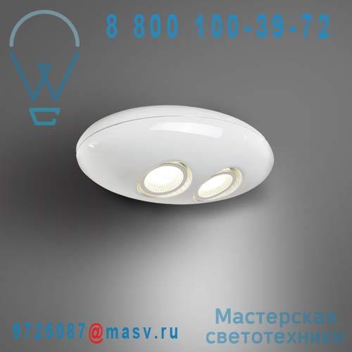 ACH100592LWL-W Applique Blanc - E.T Lumiven