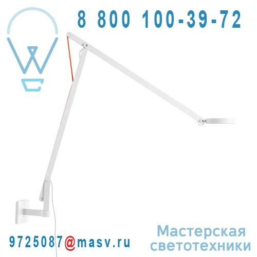 1SRW1 001 63 + KPA17002 Applique Blanc Cable Orange - STRING Rotaliana