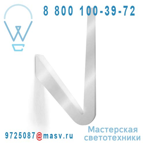 1TKW0 000 43 Applique Argent - TICK Rotaliana