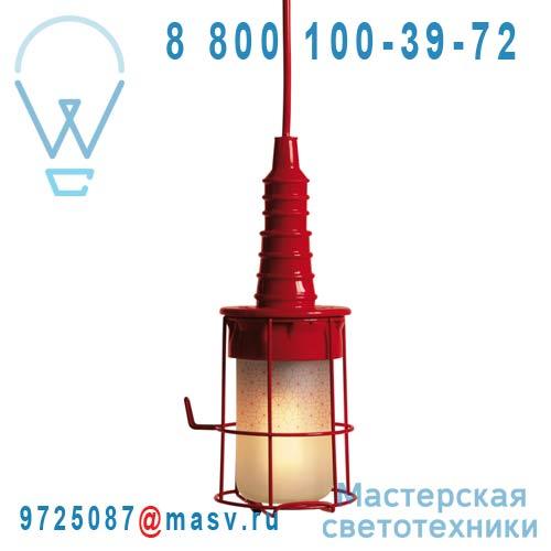 07763 ROS Lampe Baladeuse Rouge - UBIQUA Seletti