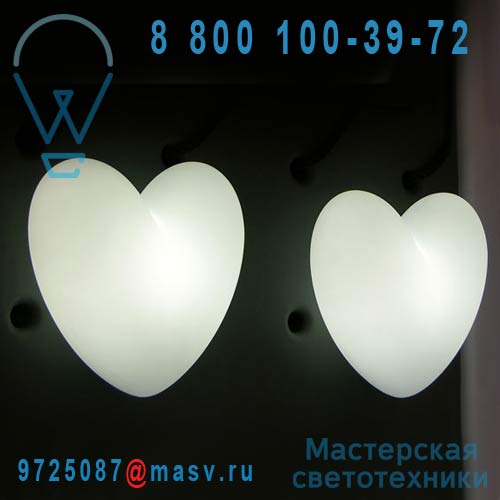 SD LOV020A Applique blanc - LOVE Slide