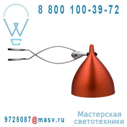 0706 Lampe a pince rouge - CORNETTE Tse & Tse
