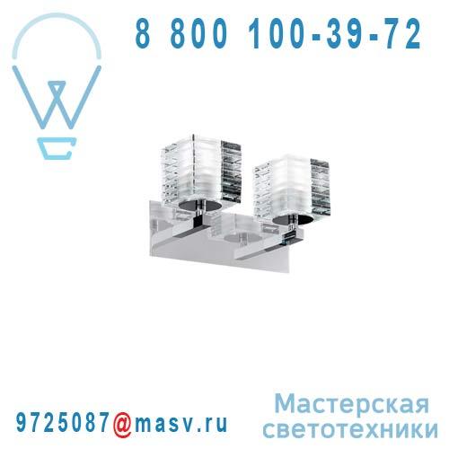 0OTTO0A20 Applique Transparent 2 diffuseurs - OTTO X OTTO de Majo