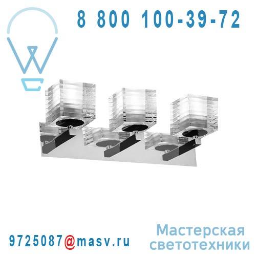 0OTTO0A30 Applique Transparent 3 diffuseurs - OTTO X OTTO de Majo