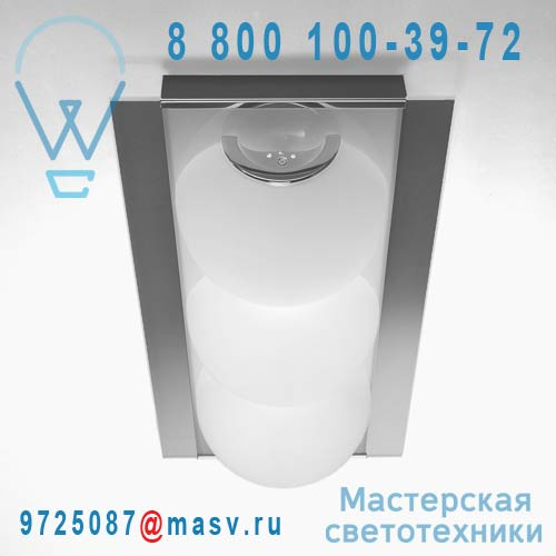 0PERL0P35 Applique/Plafonnier 3 diffuseurs - PERLAGE de Majo
