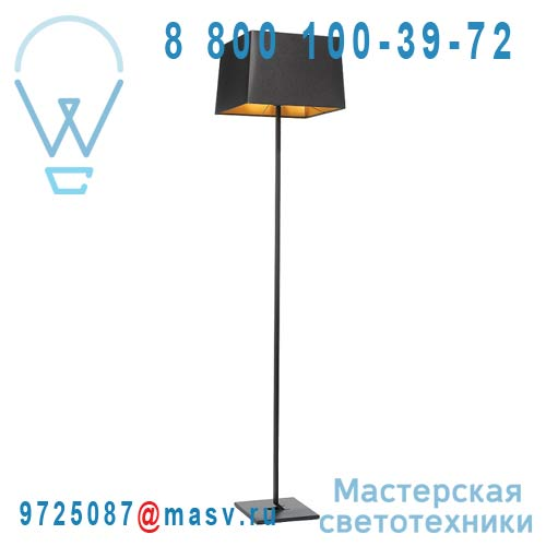 AX023 005202 Lampadaire Big Black/Gold - MEMORY Axis 71