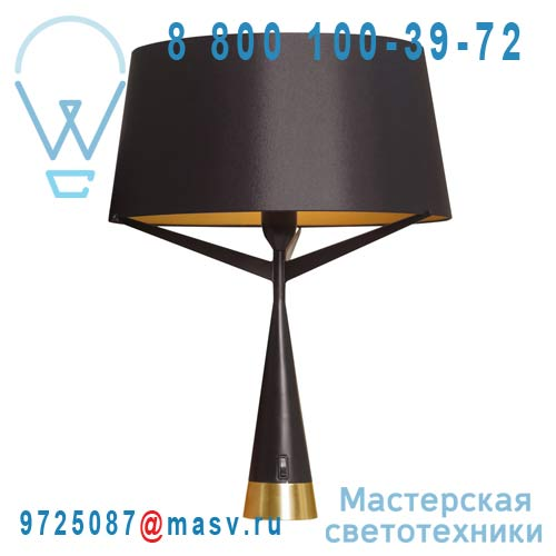 AX045 705202 Lampe L Black/Gold - S71 Axis 71