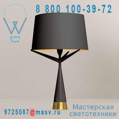 AX044 705202 Lampe S Black/Gold - S71 Axis 71