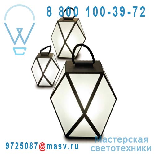 ACAM.001225 Lampe M Noir - MUSE Contardi