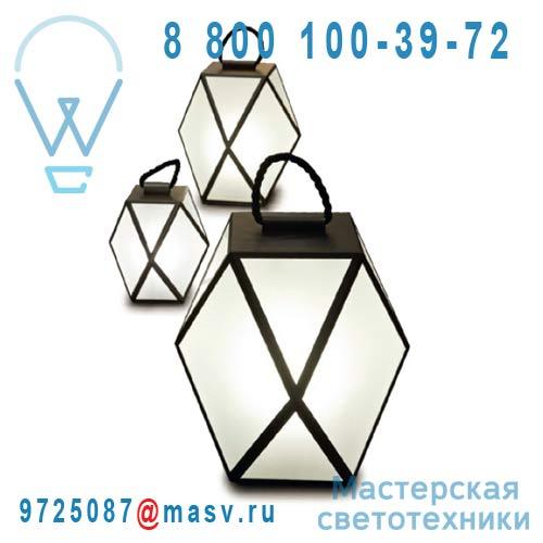ACAM.001221 Lampe S Noir - MUSE Contardi