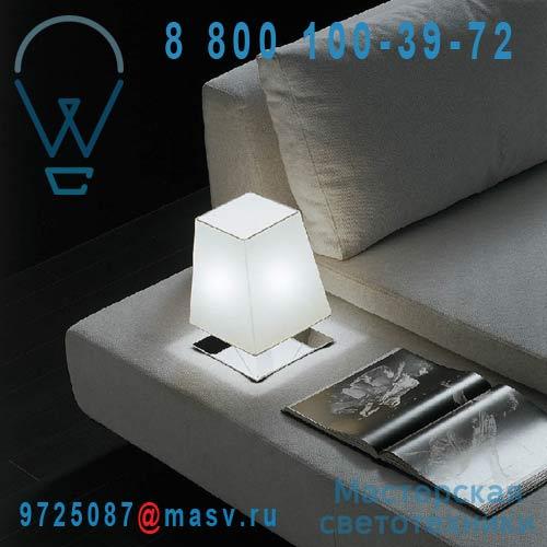 ACAM.000225 Lampe chrome/blanc - QUADRA Contardi
