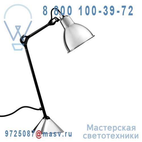 205 BL-CH Lampe de bureau Chrome & Noir - N°205 DCW Editions