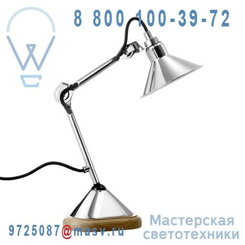 207CH-CH Lampe de bureau Chrome - N°207 DCW Editions