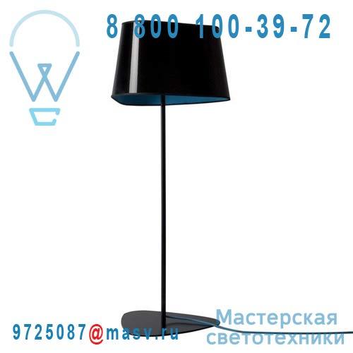 L122gnnb Lampadaire M Noir/Bleu - GRAND NUAGE DesignHeure