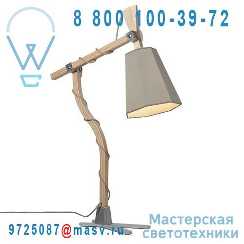 L88lkb Lampe Kaki/Blanc - LUXIOLE DesignHeure