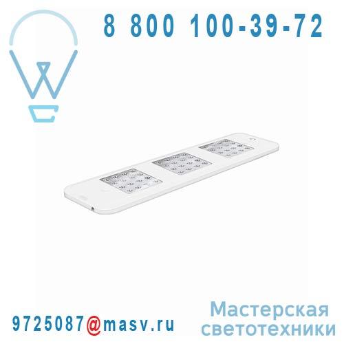 4008321975010 Reglette LED S 3x4W Blanc - QOD DOMINO Osram