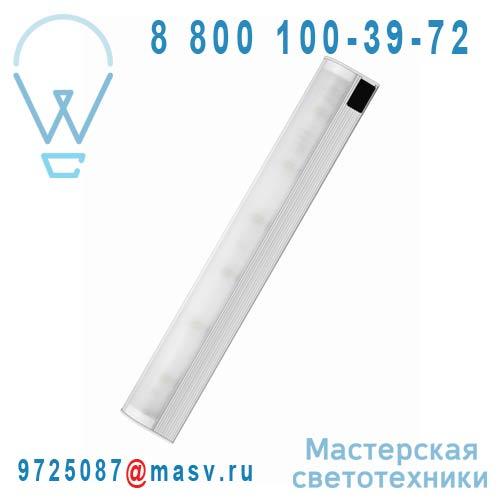 4008321975164 Reglette LED avec Detecteur 8W Argent - SLIM SHAPE Osram