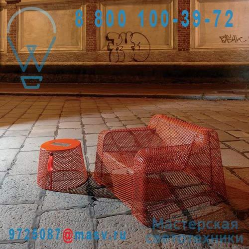 IVY 595 Orange 93 Table basse/Tabouret lumineux Orange - IVY Emu