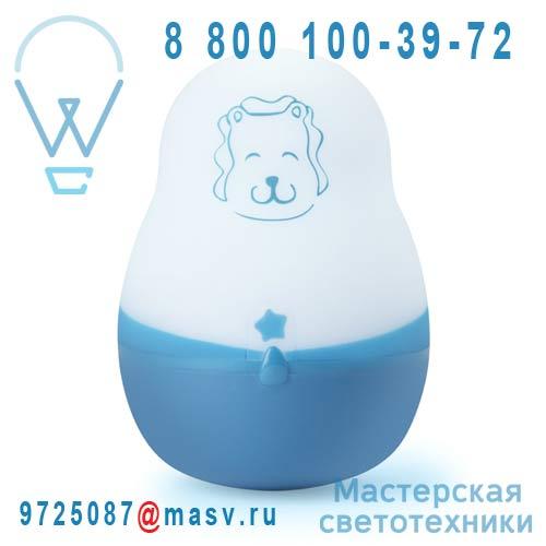 SL03-BLUE Veilleuse rechargeable Lion - VEILLEUSE SUPER NOMADE Pabobo