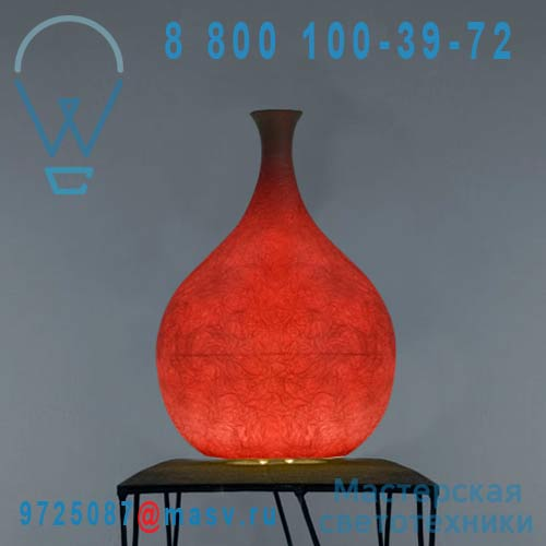 IN-ES060C40 Lampe Rouge - LUCE LIQUIDA 3 In-es Artdesign
