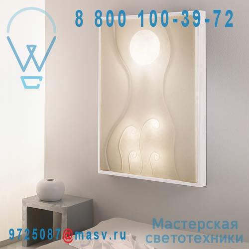 IN-ES010011 Blanc Applique/Tableau lumineux Blanc - LUNAR DANCE In-es Artdesign
