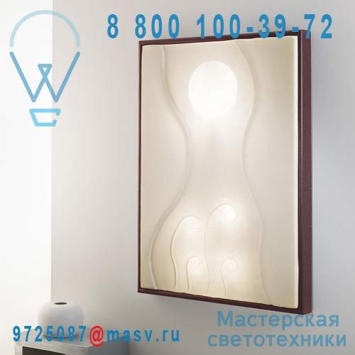 IN-ES010011 Wenge Applique/Tableau lumineux Wenge - LUNAR DANCE In-es Artdesign