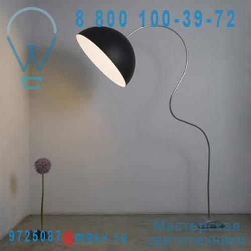 IN-ES0501PN-B Lampadaire Noir/Blanc - MEZZA LUNA PIANTANA In-es Artdesign