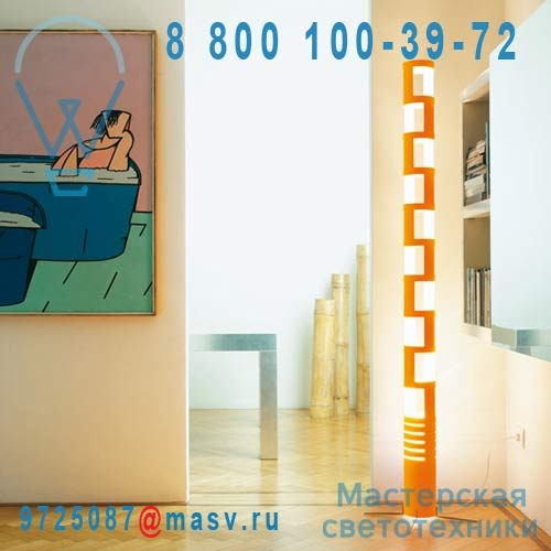 034333AREU Lampadaire Orange - SAMA Kundalini