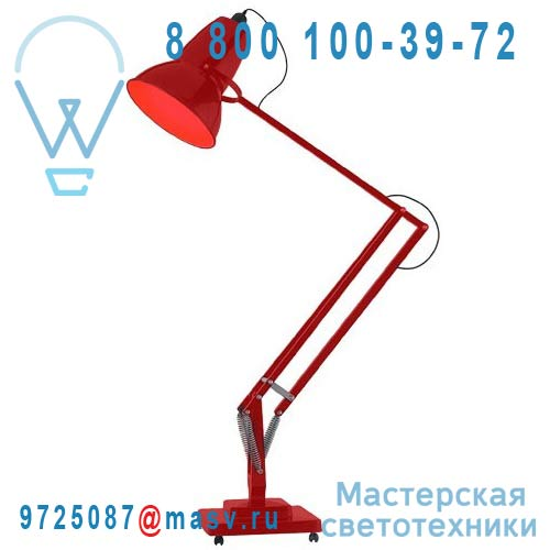 30587 Lampadaire Rouge - GIANT 1227 Anglepoise