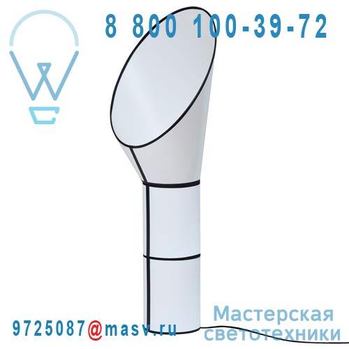 L152gc2cb Lampadaire Blanc/Blanc M - GRAND CARGO DesignHeure