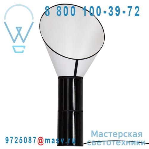 L152gc2cn Lampadaire Blanc/Noir M - GRAND CARGO DesignHeure