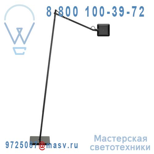 F3305030(2 colis : F3306030 + F3322030A) Liseuse Noir - KELVIN LED FLOS