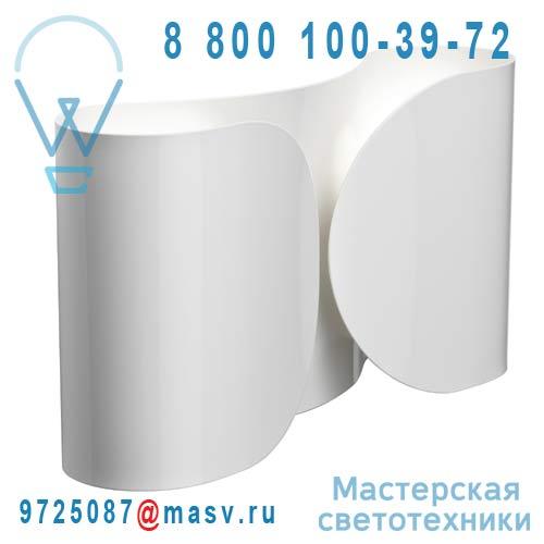 F2400009 Applique Blanc - FOGLIO FLOS