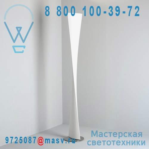 3829BI Lampadaire Blanc - POLARIS Fontana Arte