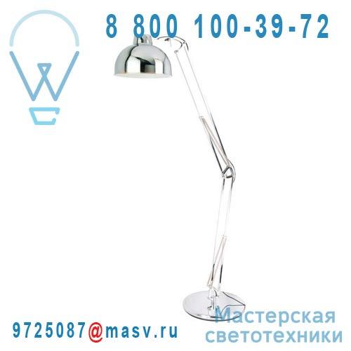 3276004280091-68997341 Lampadaire articule Chrome - KARIS Inspire