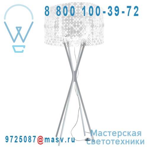 0LBBM.LPA.S200.005 Lampadaire Blanc/Blanc - MISS BUBBLE XXL Le Labo Design
