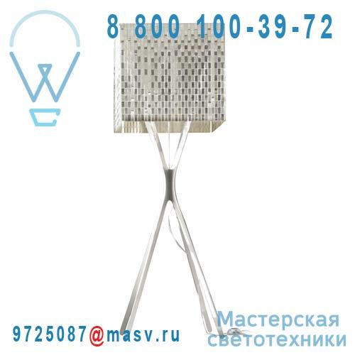 0LSPP.LPE.C165.001 Lampadaire Inox poli - MISS F Le Labo Design