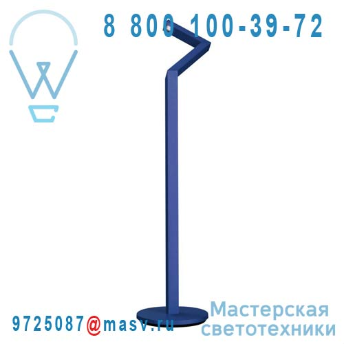 4225135LI Lampadaire LED Bleu - NICK KNACK Philips