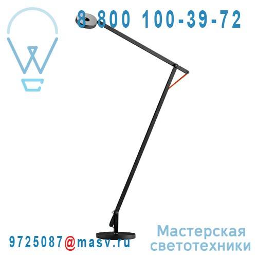 1SRF1 001 62 Liseuse Noir Cable Orange - STRING Rotaliana