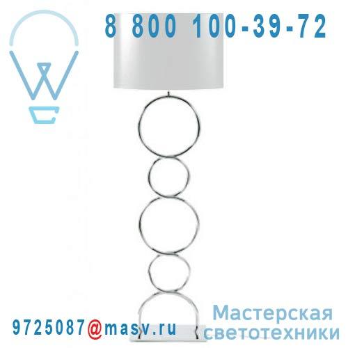 ROUND & ROUND lampadaire Blanc Lampadaire Blanc - ROUND & ROUND Thomas de Lussac