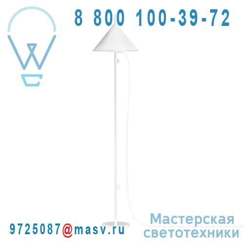 400 039 550 Blanc Lampadaire Blanc - NENDO Wastberg