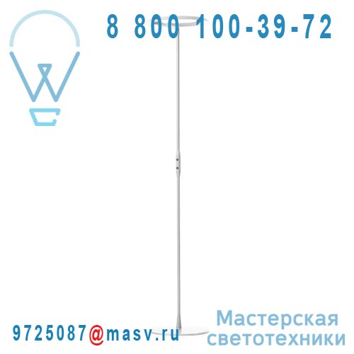 400 039 545 Lampadaire Blanc - CKR W126 Wastberg