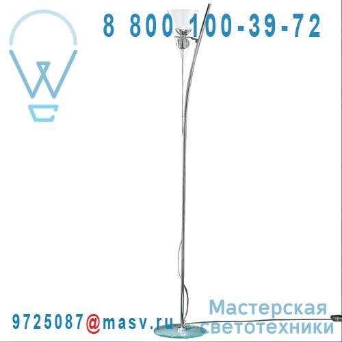 0GEMM0R16 Lampadaire Transparent boule transparente - GEMMA de Majo