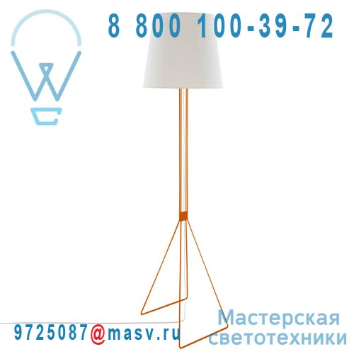 Annie Orange dimmer a pied Lampadaire Orange - ANNIE frauMaier