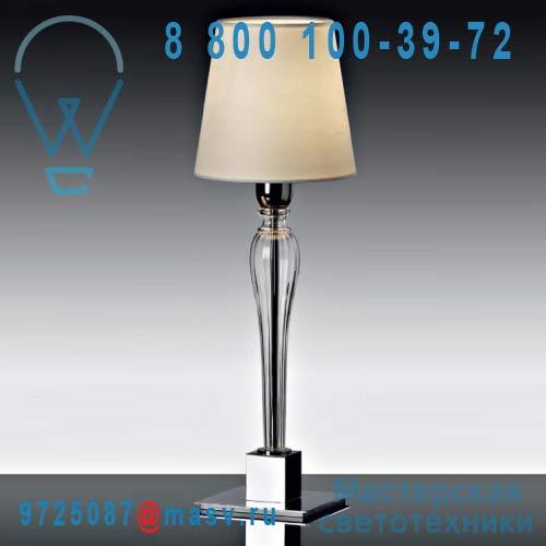 10000/TL1 crystal PT01 ivory 01 Lampe de table L - DANDY AVMazzega