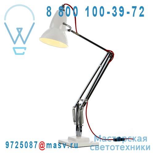 30960 Lampe de bureau Blanc fil Rouge - DUO 1227 Anglepoise